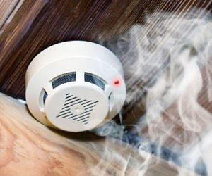 Датчик системы дымоудаления
