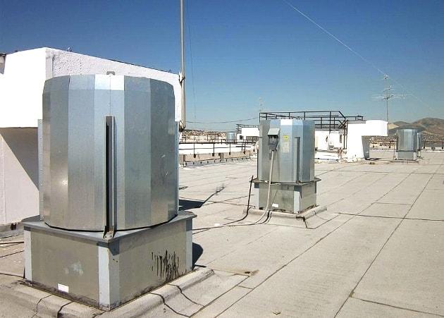 Крышной вентилятор дымоудаления