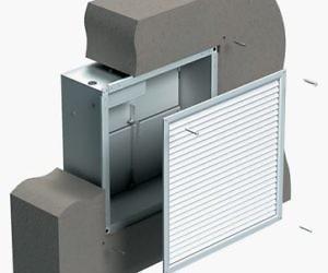Проем в наружной стене приточная противодымная вентиляция