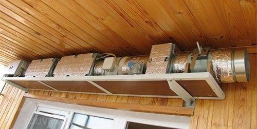 Приточная установка вентиляции
