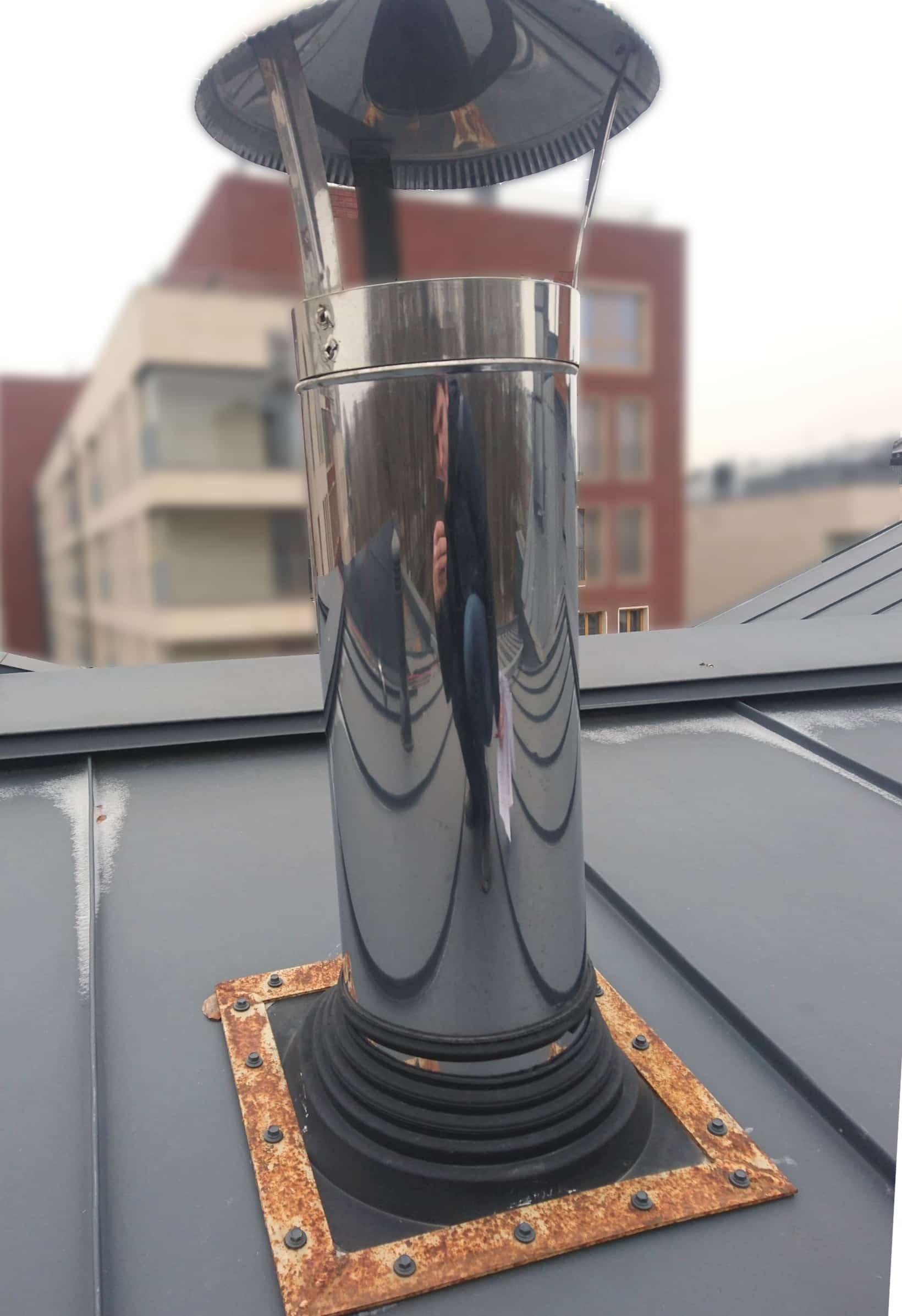 Шахта вентиляции в коттеджах