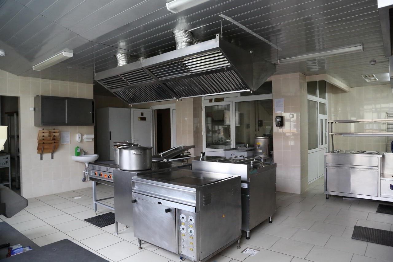 Вентиляция горячего цеха в ресторане