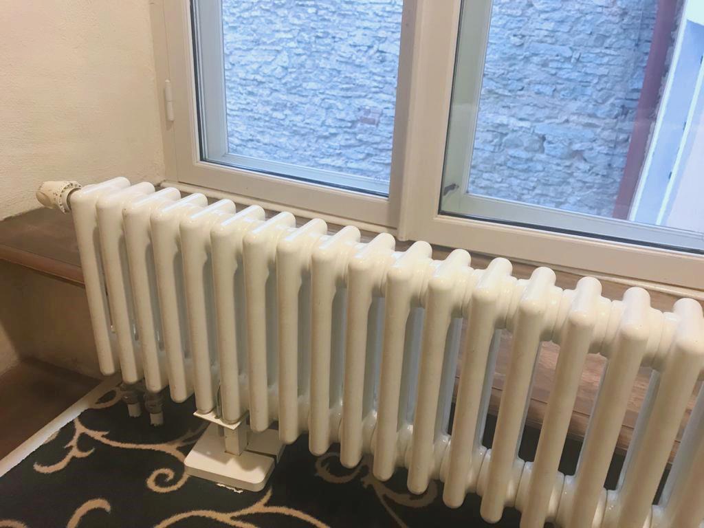 Трубчатый радиатор отопления пример