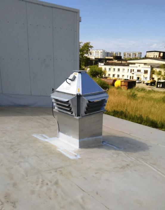 Крышной вентилятор для офиса не подходит для частного дома