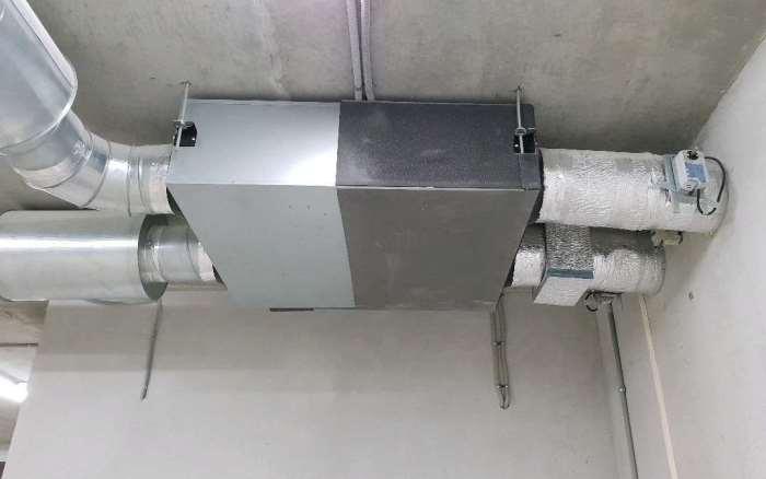Вентиляция с кондиционированием в частном доме